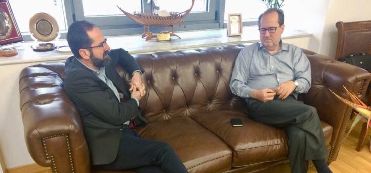 Συνάντηση με τον Δήμαρχο Καλαμάτας Παναγιώτη Νίκα