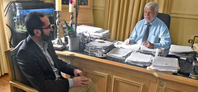 Συνάντηση με τον περιφερειάρχη Πέτρο Τατούλη
