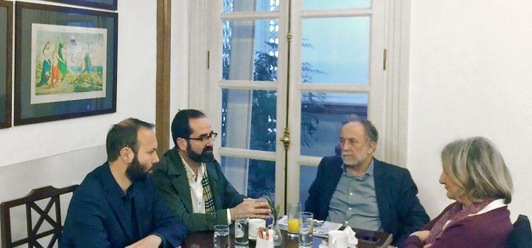 Συνάντηση με τους βουλευτές του ΣΥΡΙΖΑ Κορινθίας