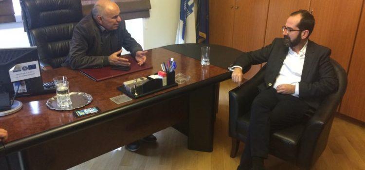 Συνάντηση με τον υποψήφιο Περιφερειάρχη Πελοποννήσου Γιάννη Μπουντρούκα