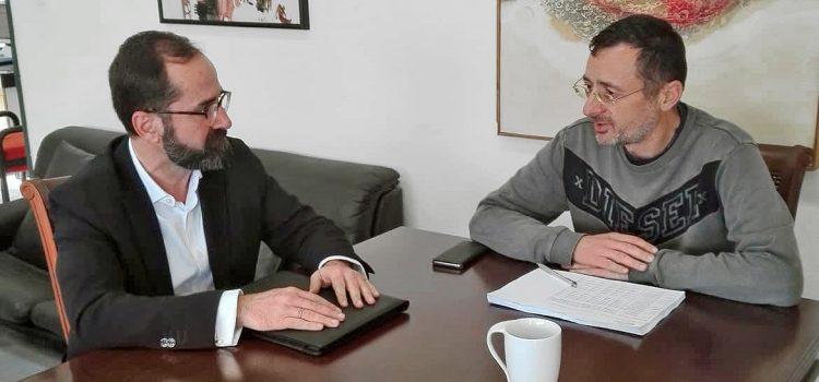 Συνάντηση με τον Δήμαρχο Σικυωνίων Σ. Σταματόπουλο