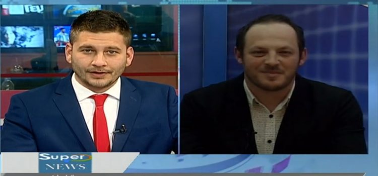 Συνέντευξη κ. Θεόδωρου Κοκιούση στο δελτίο ειδήσεων του SUPER
