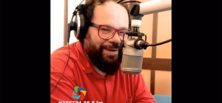 """Ραδιοφωνική συνέντευξη κ. Βασίλη Γαλάνη στο ραδιοφωνικό σταθμό """"Ηλέκτρα"""""""
