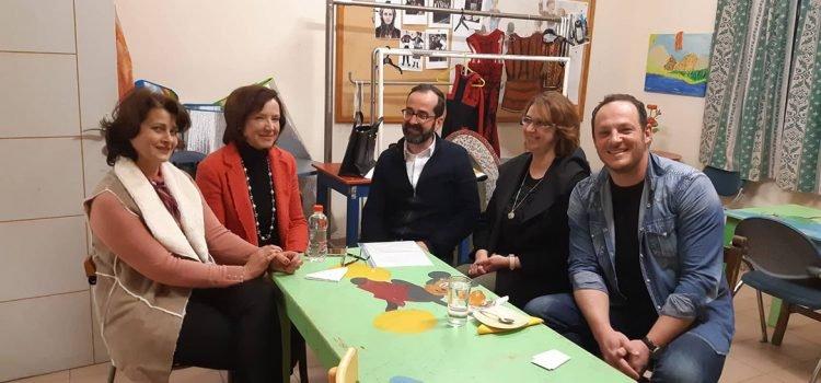Συνάντηση Μάρκου Λέγγα με το Δ.Σ. του Παραρτήματος Κιάτου του Σωματείου «Λύκειο των Ελληνίδων»
